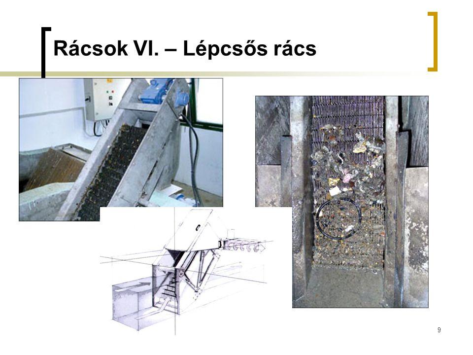 9 Rácsok VI. – Lépcsős rács
