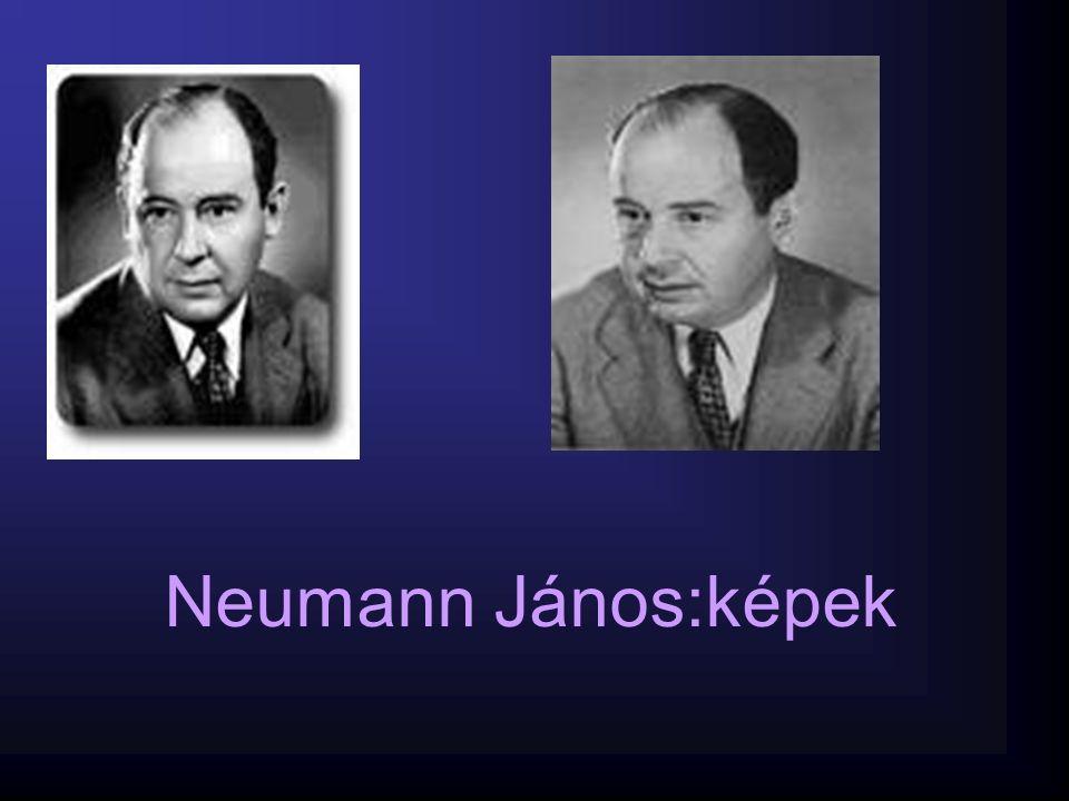 Neumann János:képek