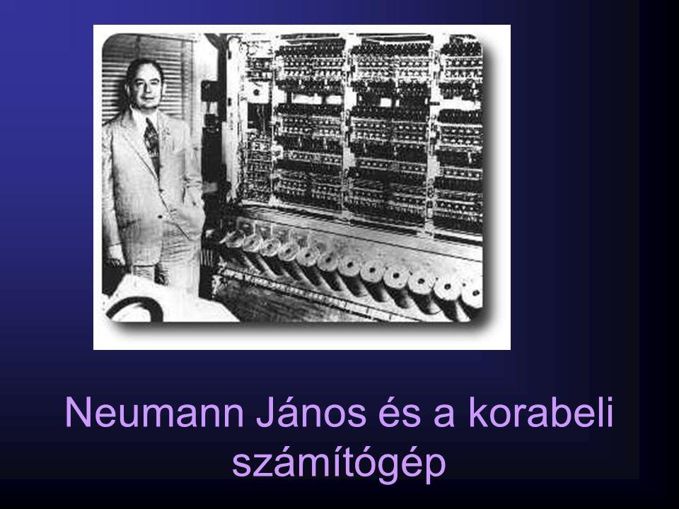 Neumann János és a korabeli számítógép