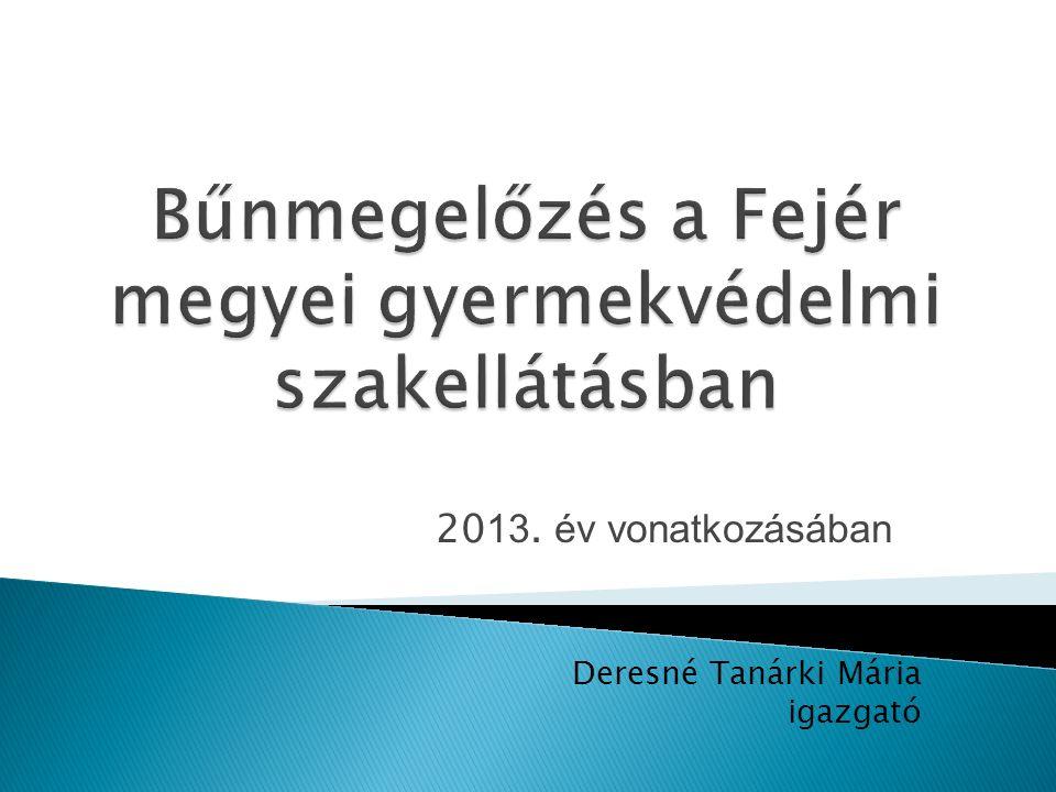 Év Gondozási hely személyek száma esetszám 2011.