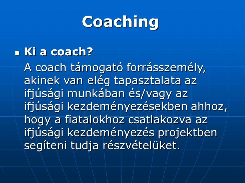 Coaching Ki a coach. Ki a coach.