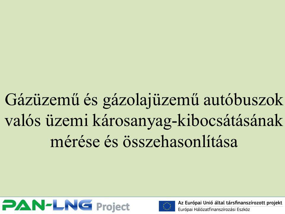 Gázüzemű és gázolajüzemű autóbuszok valós üzemi károsanyag-kibocsátásának mérése és összehasonlítása
