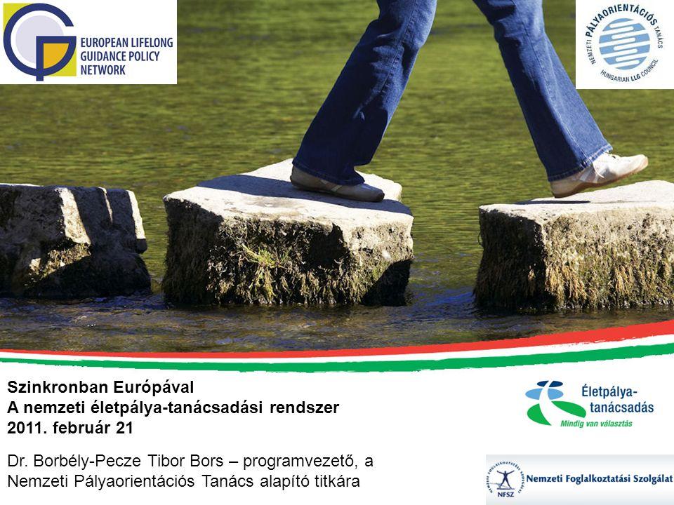 Szinkronban Európával A nemzeti életpálya-tanácsadási rendszer 2011.