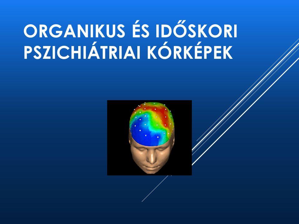 DEMENCIA - DIAGNÓZIS ► Klinikai – szindromatológiai ► Pszichometria (MMS, GDS, Óra teszt, ADAS stb.) ► Laboratóriumi adatok ► EEG, CT, MRI – PET, SPECT