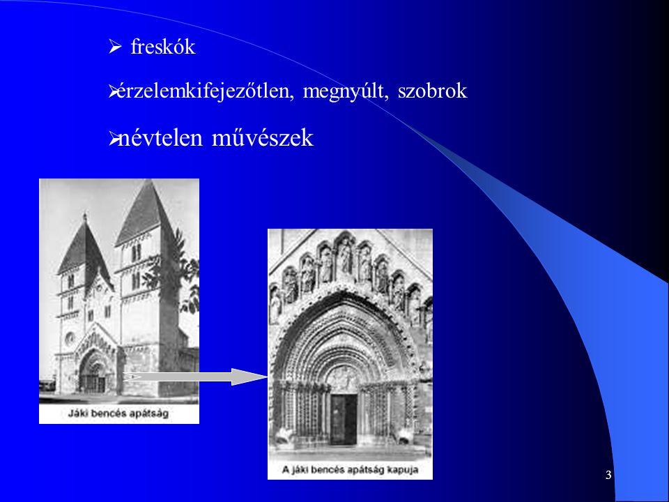 4 A gótikus stílus időben: XIII.és XIV.
