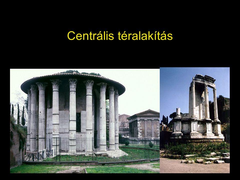 Centrális téralakítás
