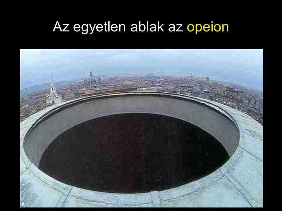 Az egyetlen ablak az opeion