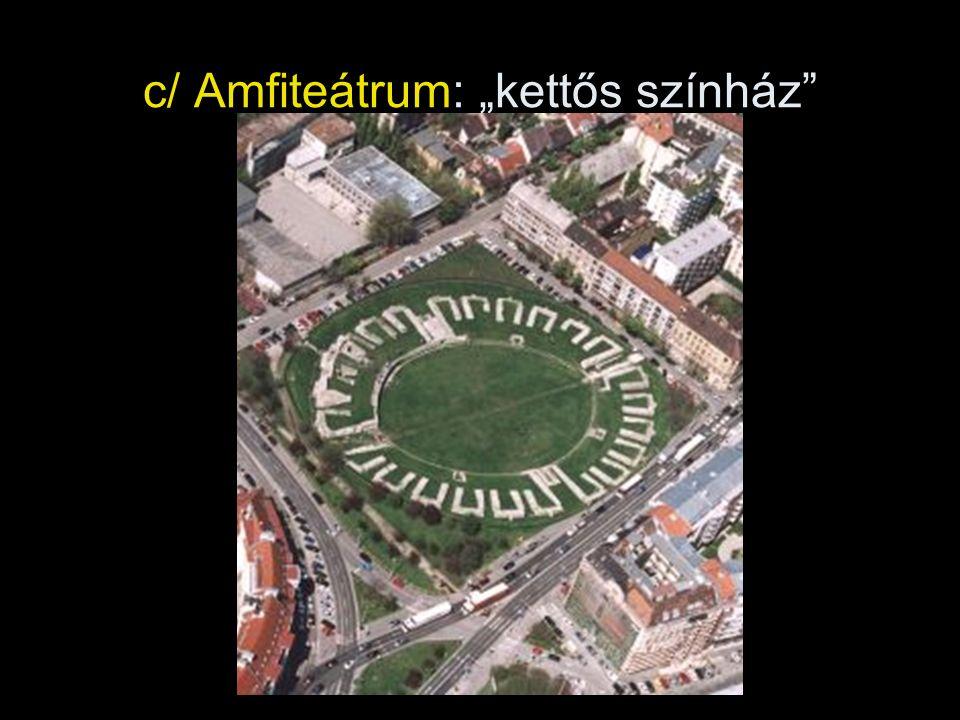 """c/ Amfiteátrum: """"kettős színház"""