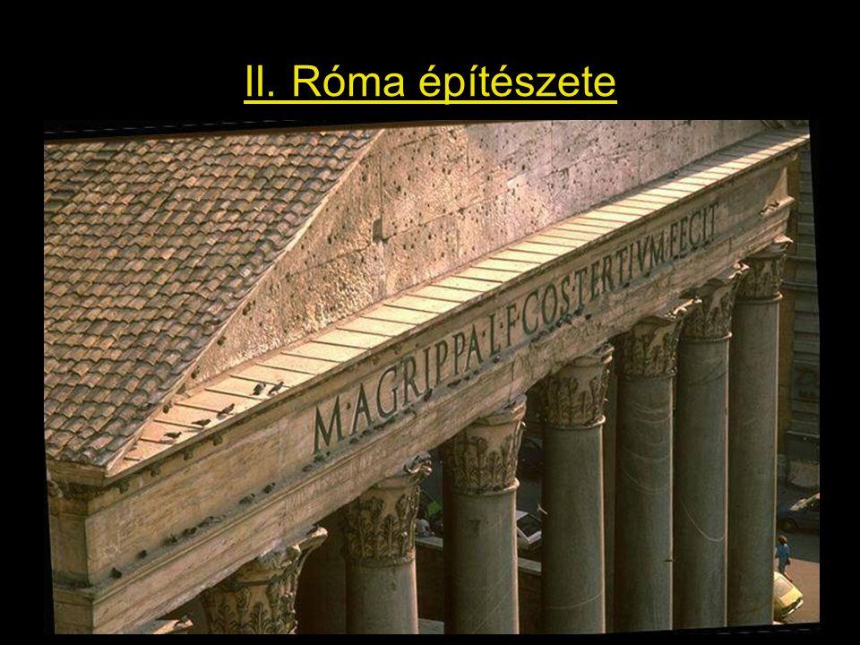 II. Róma építészete