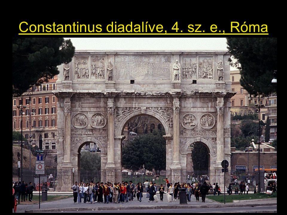 Constantinus diadalíve, 4. sz. e., Róma