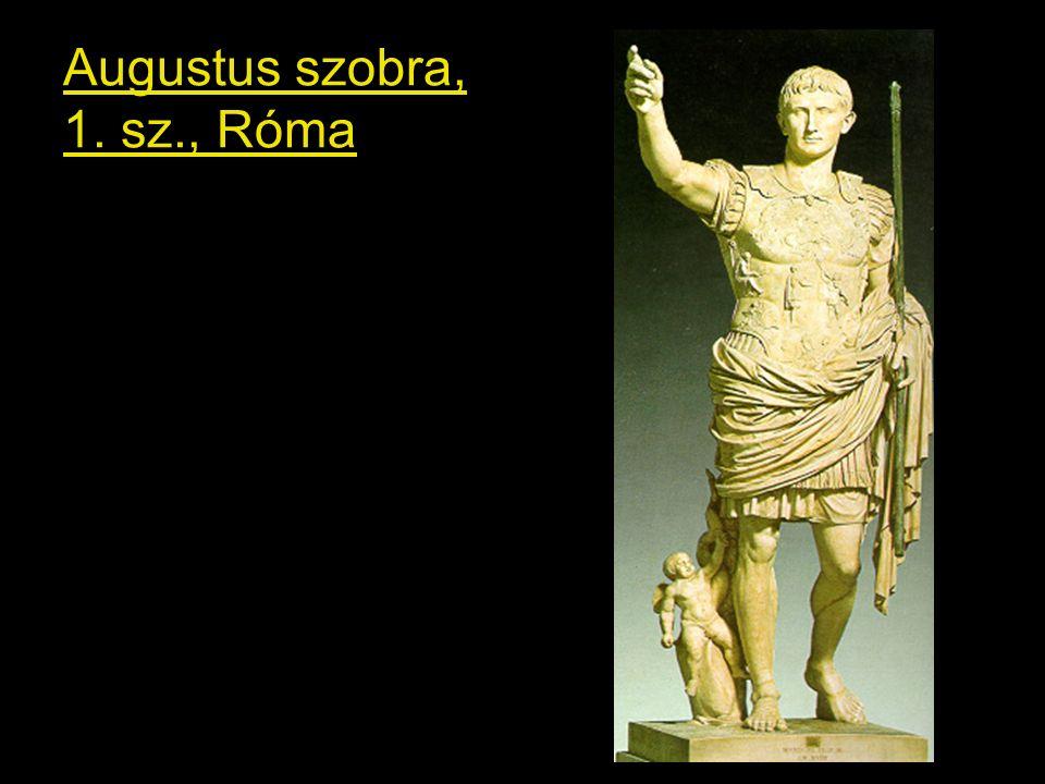 Augustus szobra, 1. sz., Róma