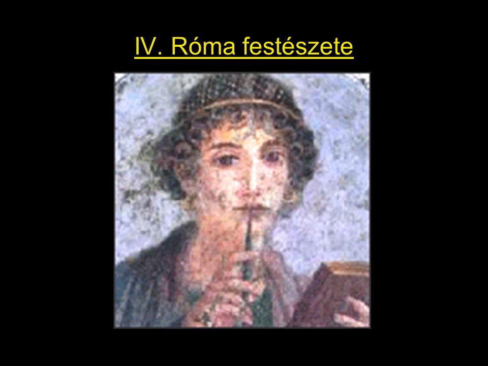 IV. Róma festészete