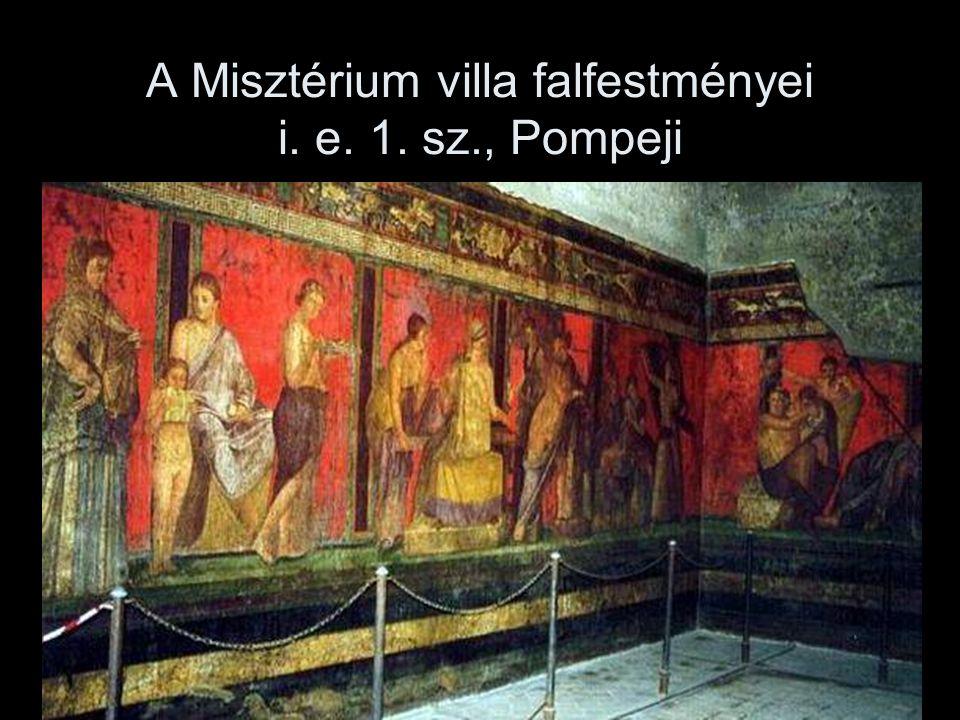 A Misztérium villa falfestményei i. e. 1. sz., Pompeji