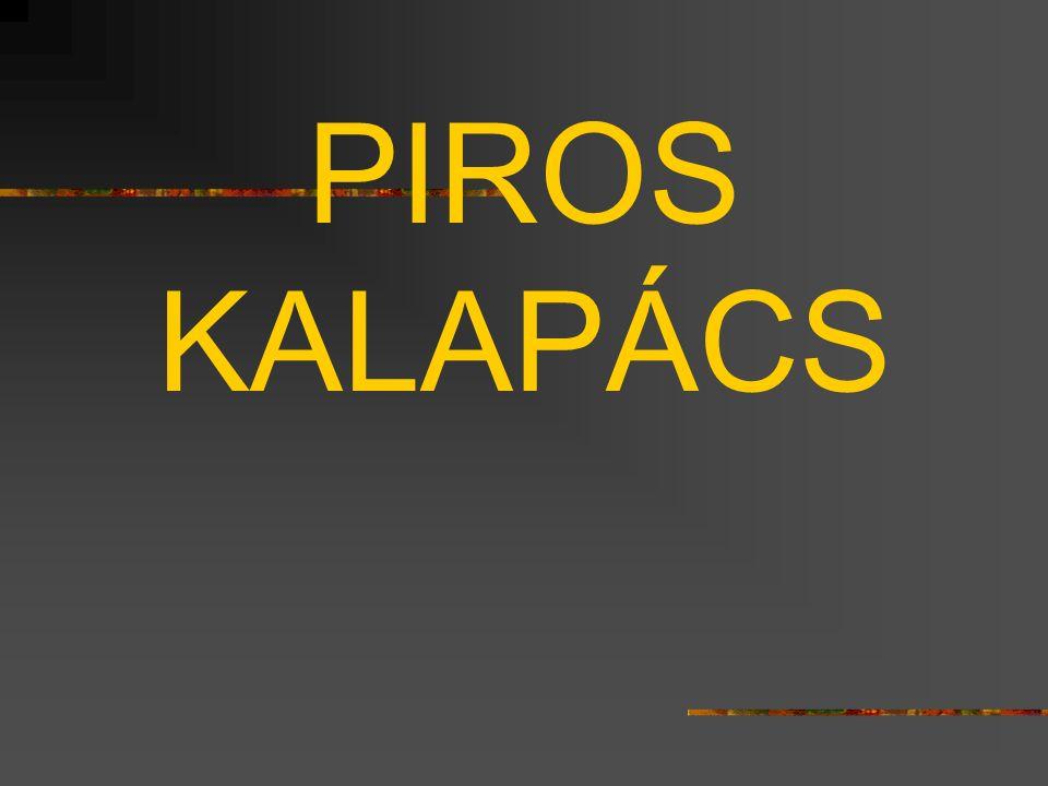 PIROS KALAPÁCS