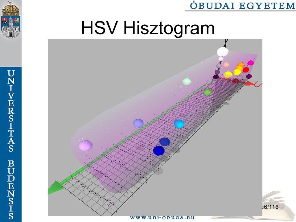 86/116 HSV Hisztogram
