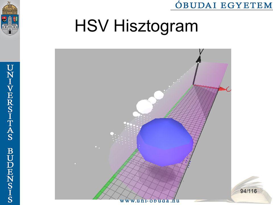 94/116 HSV Hisztogram