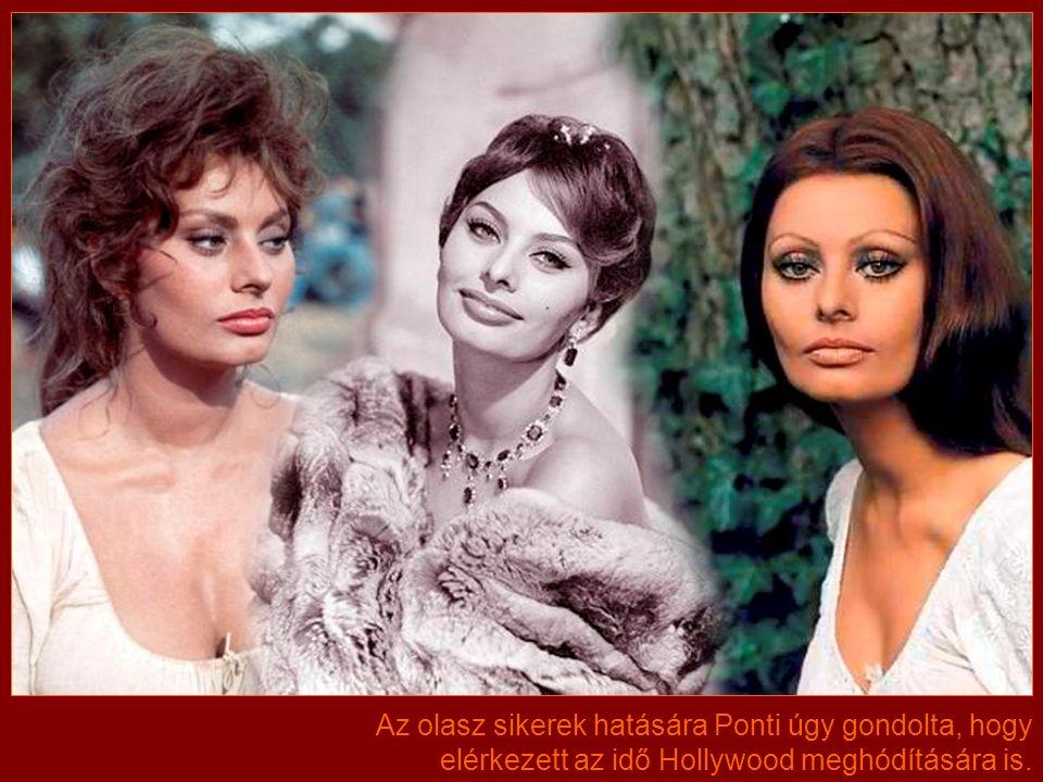 Hamar összekerült pályafutása legkedvesebb partnerével, Marcello Mastroiannival is, akivel az évek során összesen 13 filmet forgatott.