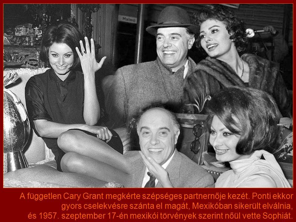 Munkakapcsolatuk szerelemmé mélyült. A színésznőt kételyek gyötörték, szerette Pontit, hálás volt a férfi támogatásáért, de a producer nős volt.