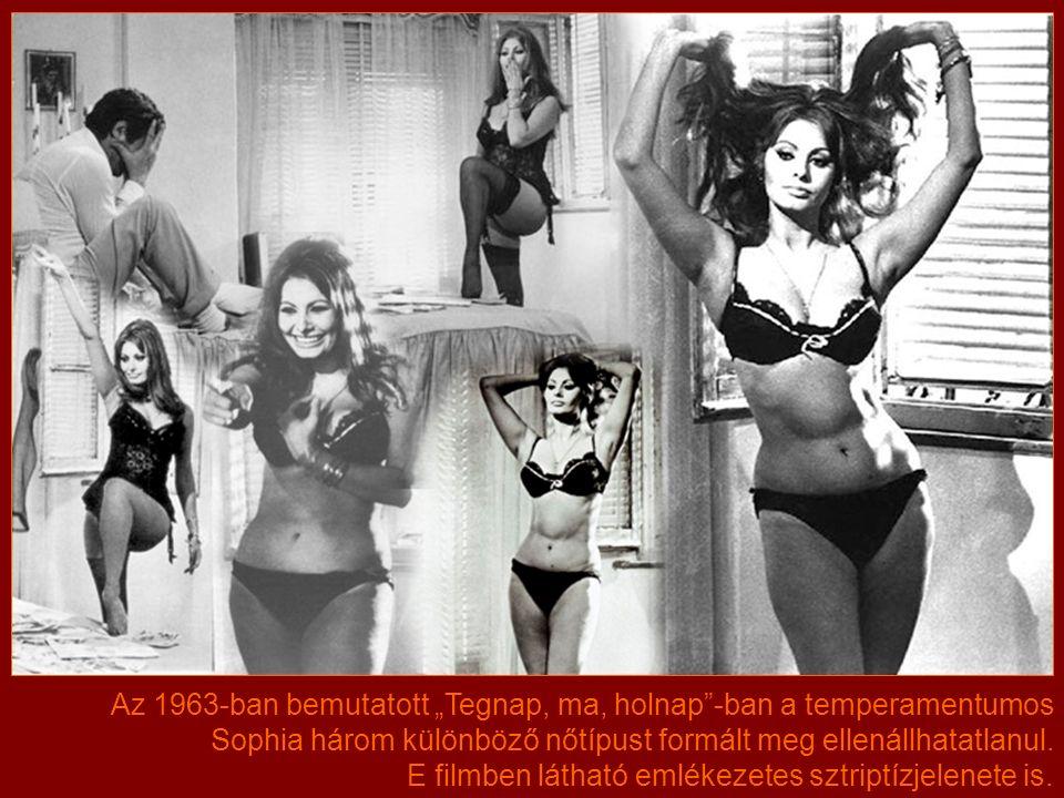 A látványos, de színészileg kisebb kihívást jelentő szuperprodukciók mellett Sophia Európában is folyamatosan dolgozott.