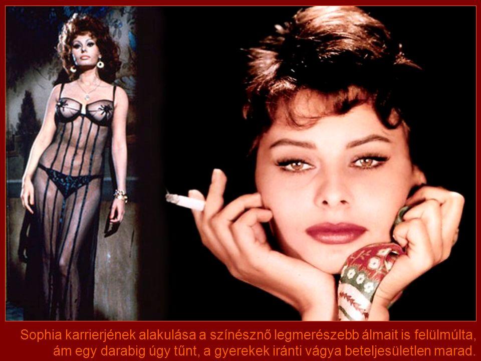 """Az 1963-ban bemutatott """"Tegnap, ma, holnap""""-ban a temperamentumos Sophia három különböző nőtípust formált meg ellenállhatatlanul. E filmben látható em"""