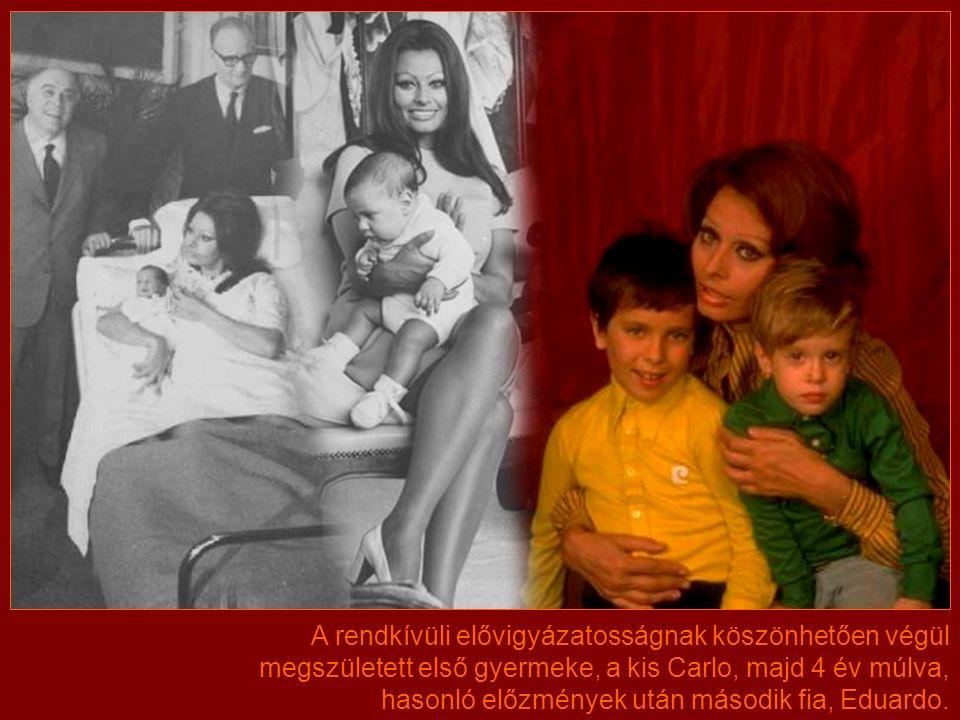 Kétszer is elvetélt, mígnem 1968-ban a harmadik terhessége idején hónapokon keresztül ki sem kelt az ágyból, és a legszigorúbb orvosi utasításoknak is alávetette magát, hogy a magzat megmaradjon.