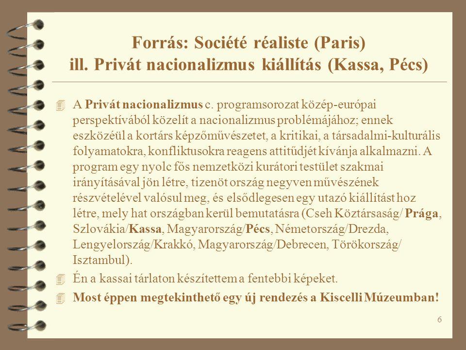 4 A Privát nacionalizmus c.