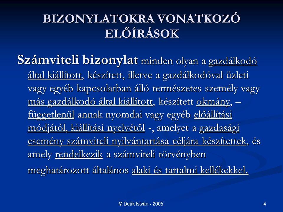 4© Deák István - 2005.