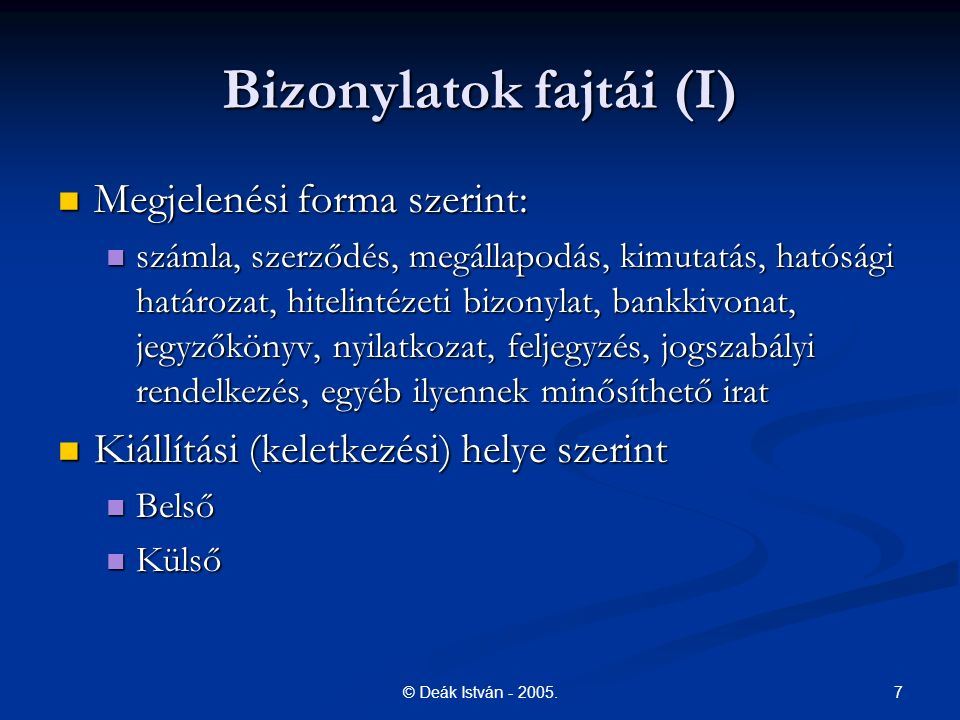 8© Deák István - 2005.