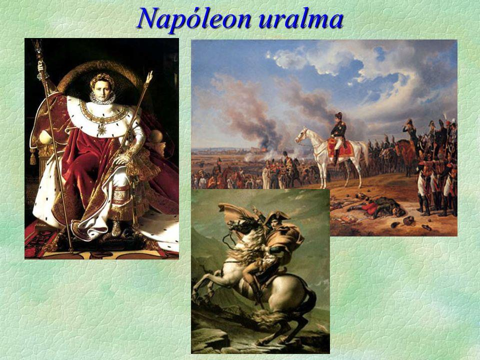  Napóleon veresége  válság  ellenállás spanyol és német földön  Anglia megszervezi a 6.