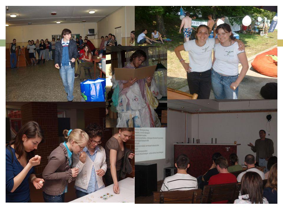 Helyi alaptevékenységek  Szelektív gyűjtés  Közösségi kertek  Madárvédelem  Fenntarthatósági Napok rendezvény