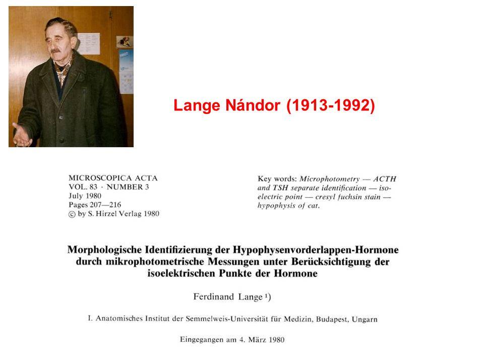 Lange Nándor (1913-1992)