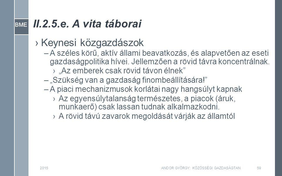 BME II.2.5.e.