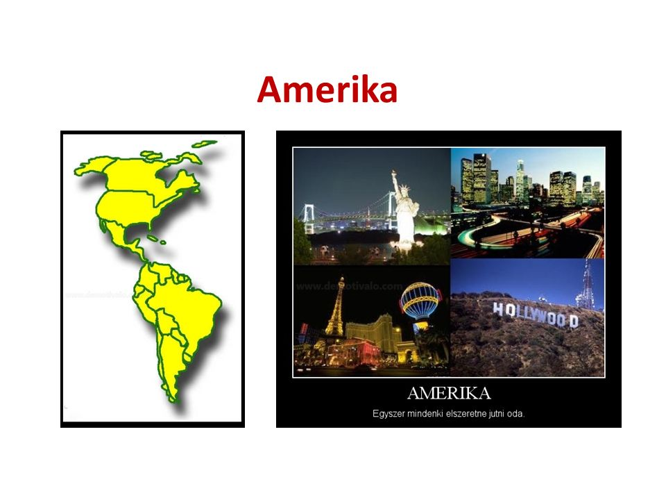 Lakói Őslakosok: eszkimók, indiánok(Ázsiából) Bevándorlók(gyarmatosítók): - angolok, franciák(Angol-Amerika  USA, Kanada) - spanyolok, portugálok(Latin-Amerika  Rio Grande folyótól délre) Behurcoltak: négerek(rabszolga, Afrika) Kevert népek: zambó(fekete-indián),mesztic(fehér- indián), mulatt (fehér-fekete) Kreolok: spanyol, portugál leszármazottak