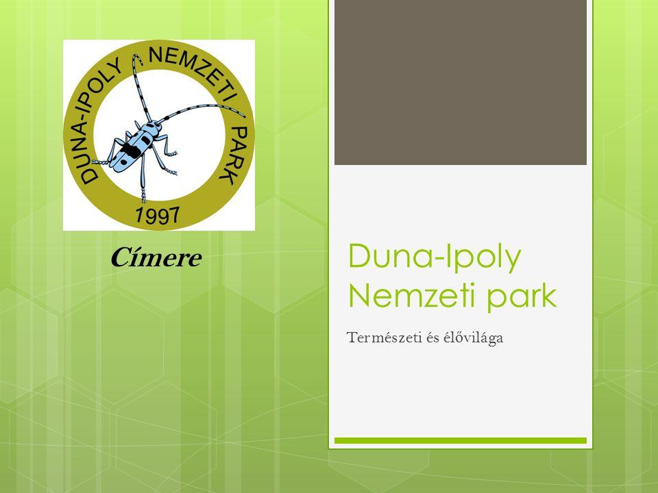 Duna-Ipoly Nemzeti park Természeti és él ő világa Címere