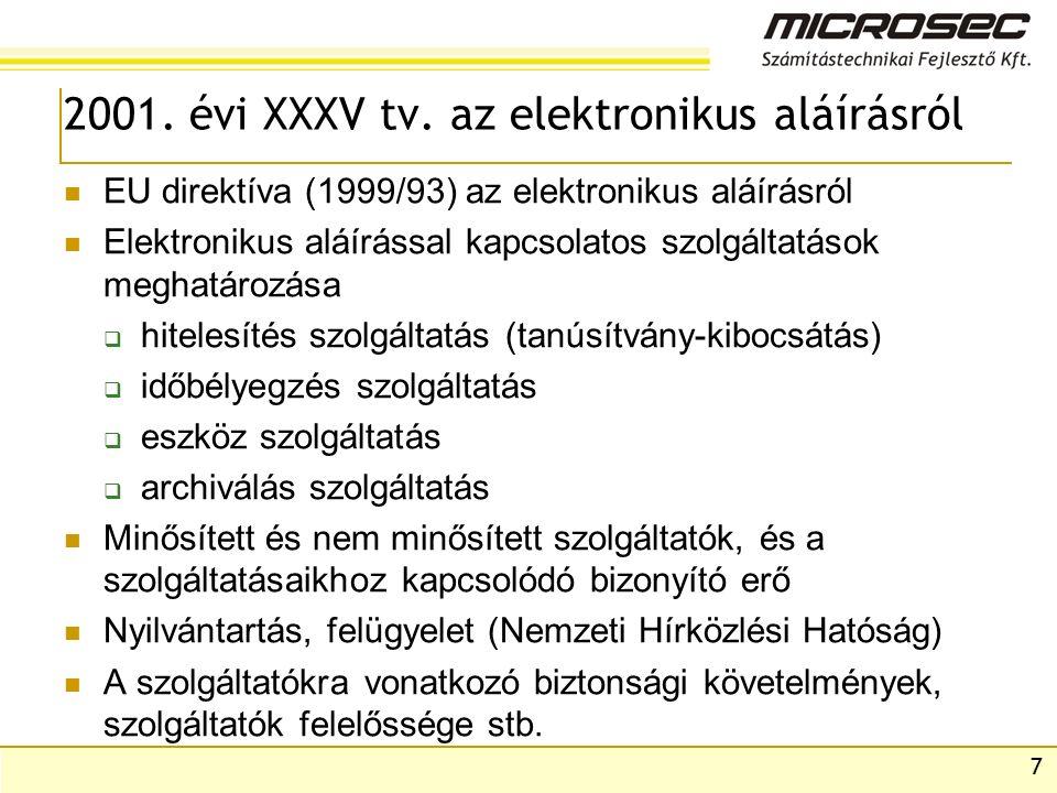 7 2001. évi XXXV tv.
