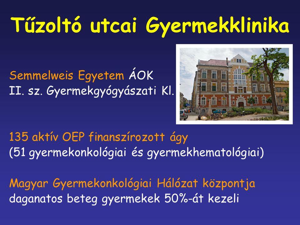 Tűzoltó utcai Gyermekklinika Semmelweis Egyetem ÁOK II.