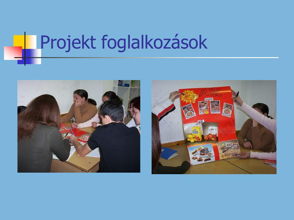 Projekt foglalkozások