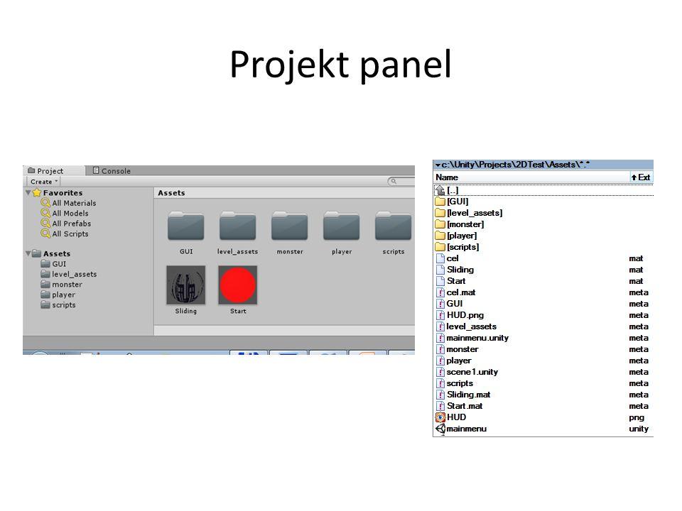 Projekt panel