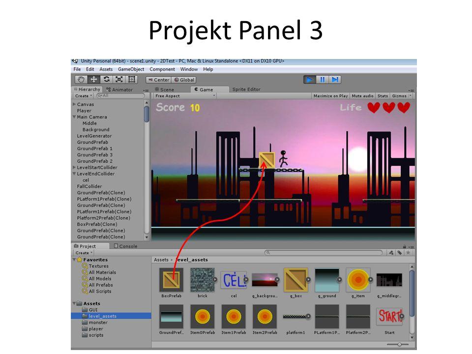 Projekt Panel 3