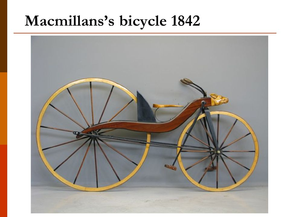 Macmillans's bicycle 1842