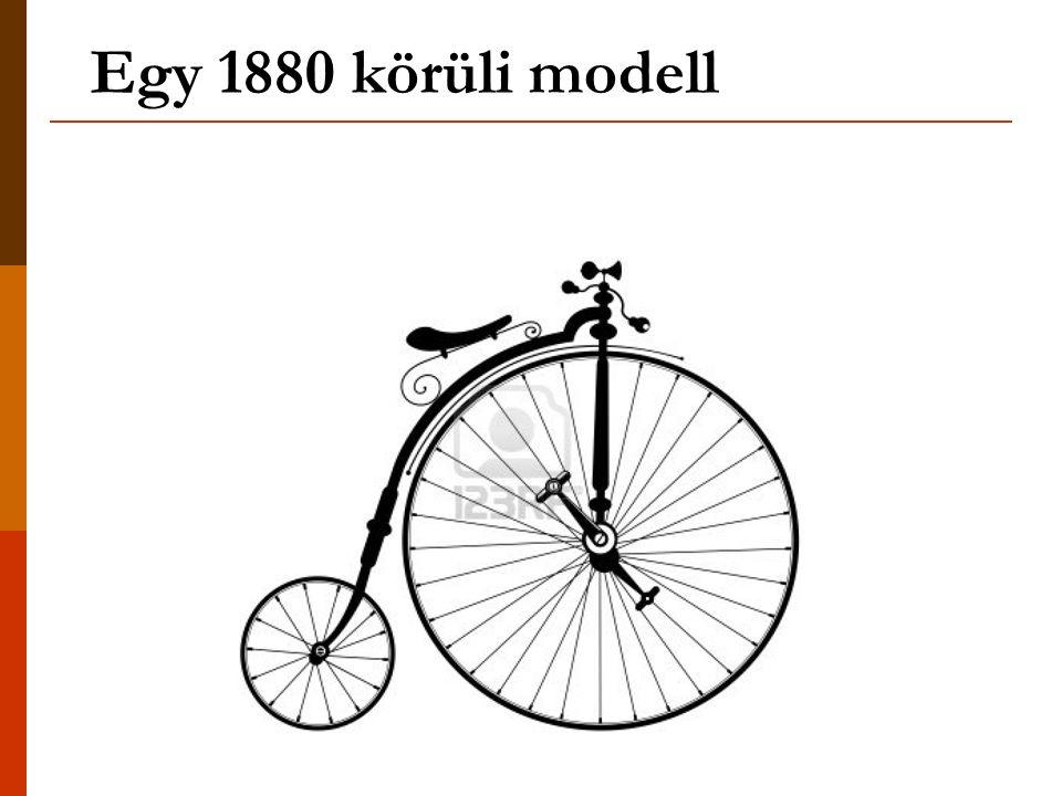 Egy 1880 körüli modell