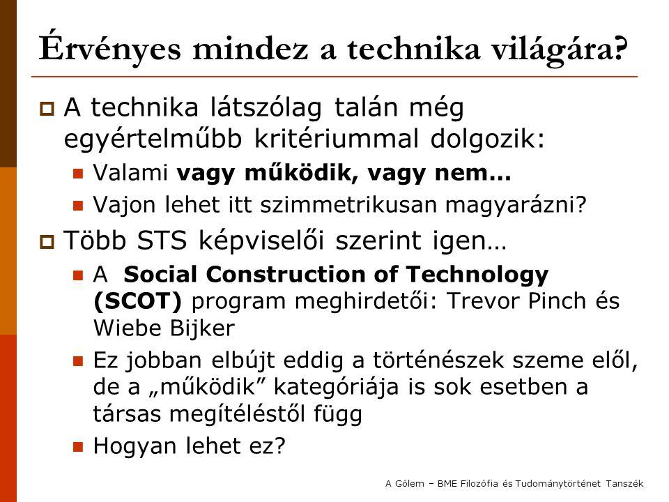 """A tudomány és technika """"hagyományos vs."""