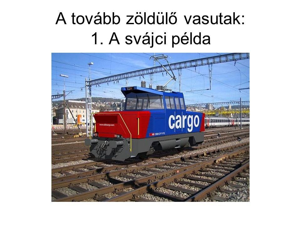 A tovább zöldülő vasutak: 1. A svájci példa