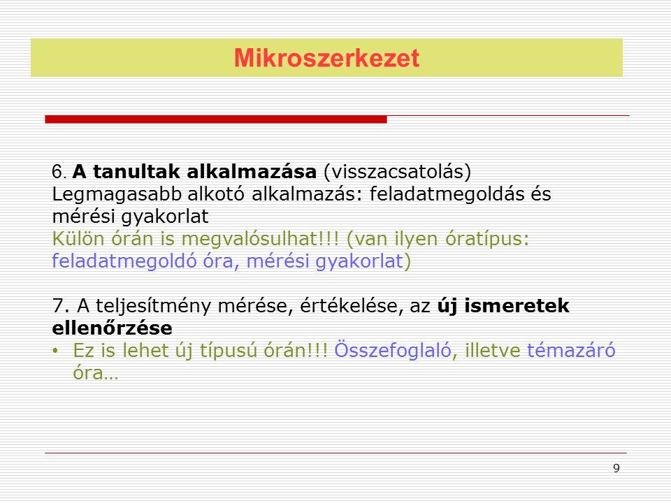 Mikroszerkezet 6.