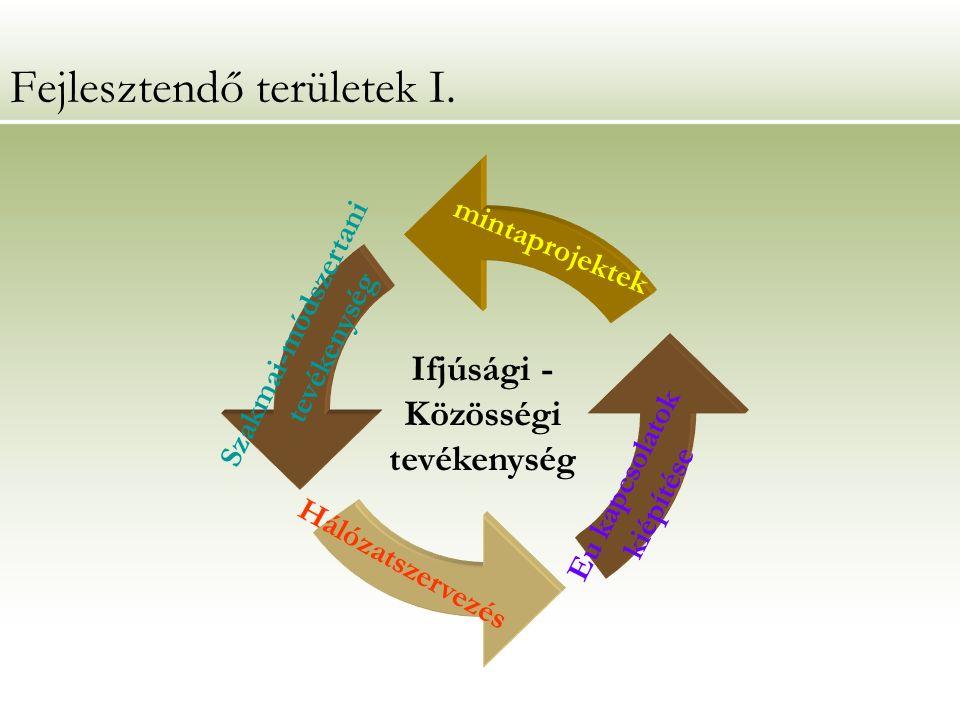 Fejlesztendő területek I.