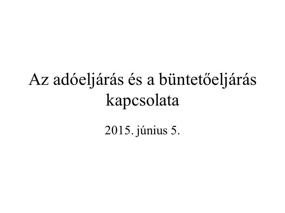 """A kapcsolat alapja: a költségvetést károsító bűncselekmények """"előfeltétele valamilyen közigazgatási jogviszony fennállása 2012."""