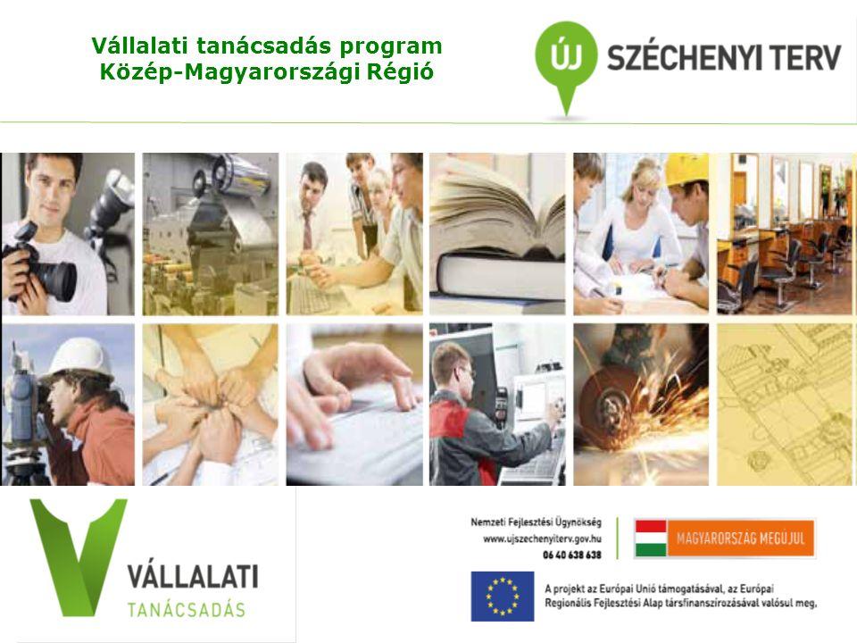 Vállalati tanácsadás program Közép-Magyarországi Régió