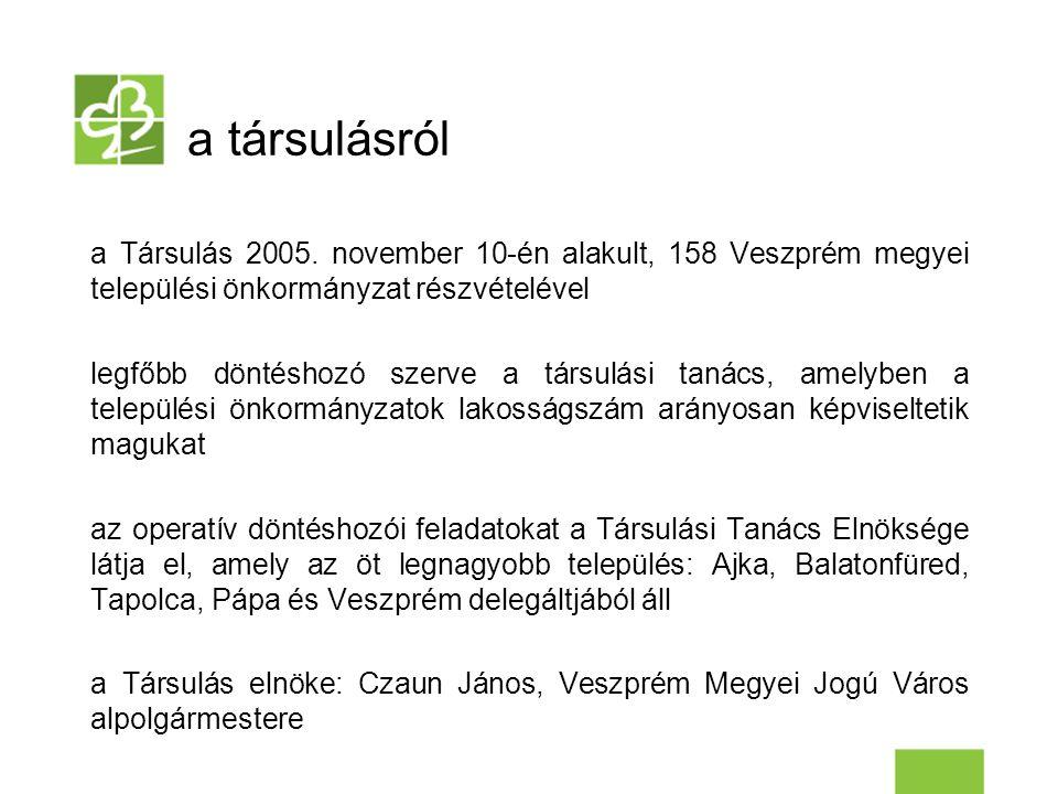 a társulásról a Társulás 2005.