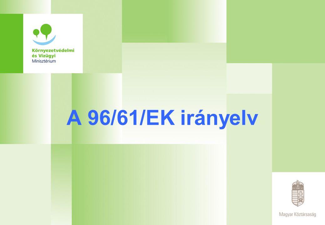 A 96/61/EK irányelv