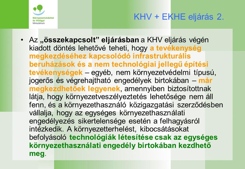 KHV + EKHE eljárás 2.
